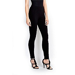 Wallis - Black ponte legging