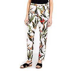 Wallis - Tropical printed jogger trouser