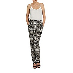 Wallis - Stone printed tapered trouser