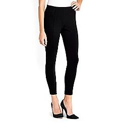 Wallis - Black multistitch legging