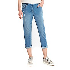 Wallis - Esther sky blue girlfriend jeans