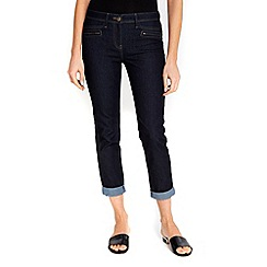 Wallis - Indigo scarlett roll up jeans