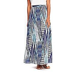 Wallis - Striped tribal skirt