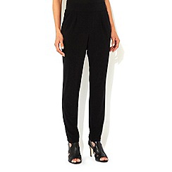Wallis - Black ity tapered trouser