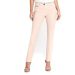 Wallis - Harper pink straight jeans