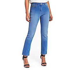 Wallis - Sky blue harper straight jeans