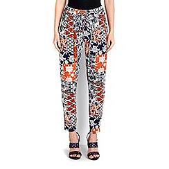 Wallis - Black tile trouser