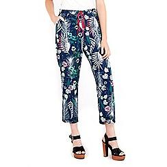 Wallis - Feather print trouser