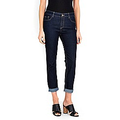 Wallis - Indigo scarlett roll up jeans