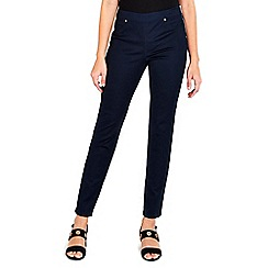 Wallis - Navy side zip trouser