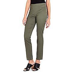 Wallis - Khaki side zip trouser