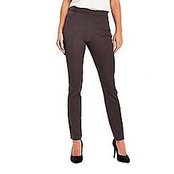 Wallis - Grey soft side zip trousers