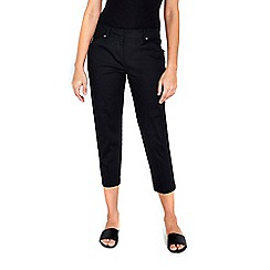 Wallis - Black stretch trousers