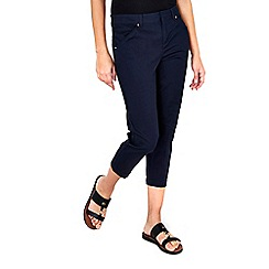Wallis - Navy stretch trousers