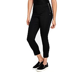 Wallis - Black capri trousers