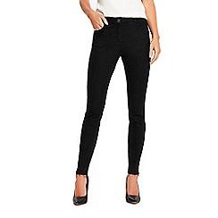 Wallis - Black letdown hem ellie jeans
