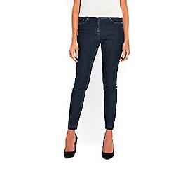 Wallis - Indigo letdown hem ellie jeans