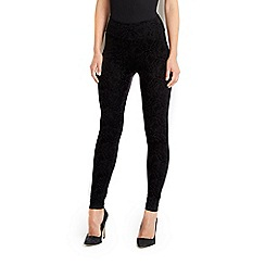 Wallis - Black baroque legging