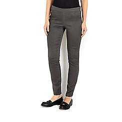 Wallis - Grey side zip trouser