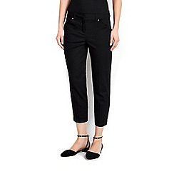 Wallis - Black stretch crop trouser