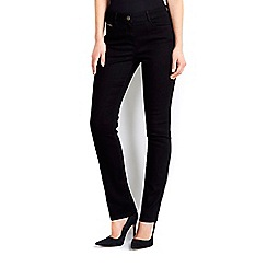Wallis - Black straight leg jean