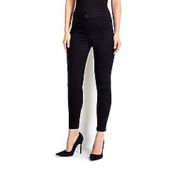 Wallis - Black high waisted jegging