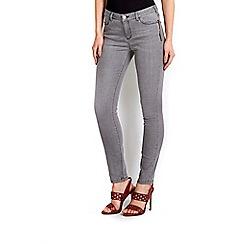 Wallis - Grey zip pocket skinny