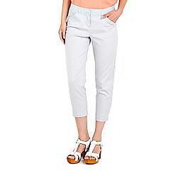 Wallis - Grey cotton stretch trouser