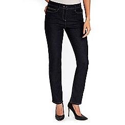 Wallis - Indigo harper straight jeans