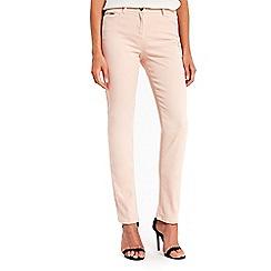 Wallis - Harper blush straight leg jeans