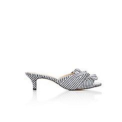 Wallis - Knot detail kitten heel sandals