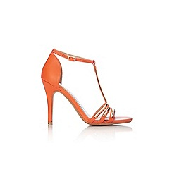 Wallis - Orange t-bar sandal