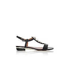 Wallis - Black studded sandal