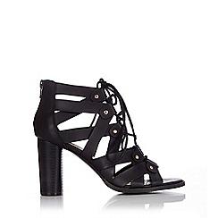 Wallis - Gladiator lace up block heel