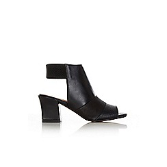 Wallis - Black peeptoe sandal