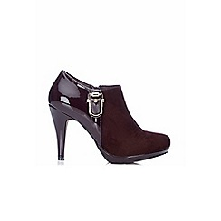 Wallis - Berry platform shoe boot