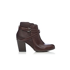 Wallis - Double strap and buckle ankle boot