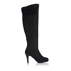 Wallis - Black over the knee boot