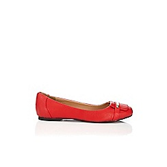 Wallis - Red ballerina shoe