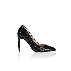 Wallis - Printed high heeled point shoe