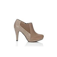 Wallis - Taupe ankle shoe boot