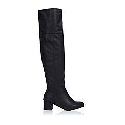 Wallis - Black hunter boot