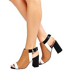 Wallis - Multi block heel sandals