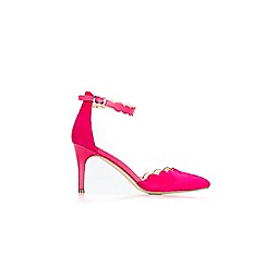 Wallis - Bright pink high heel shoes