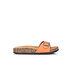 Wallis - Orange strap sandal