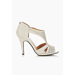 Wallis - Cream heeled sandal