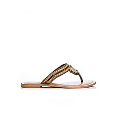 Wallis - Bronze jewel sandal