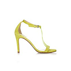 Wallis - Lime t-bar strappy sandal