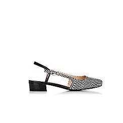 Wallis - Black slingback sandals