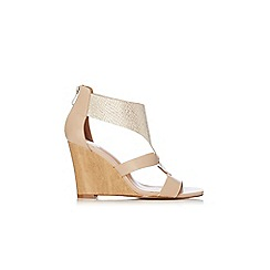 Wallis - Nude wedge sandal